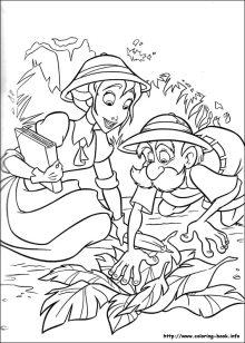 Free Disney Tarzan Printables, Coloring Pages, and