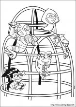 teen titan coloring pages # 13