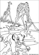 lion king coloring page # 13