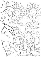 the cat in the hat coloring pages # 25