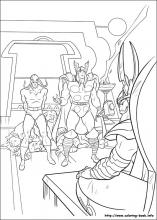 thor coloring page # 36