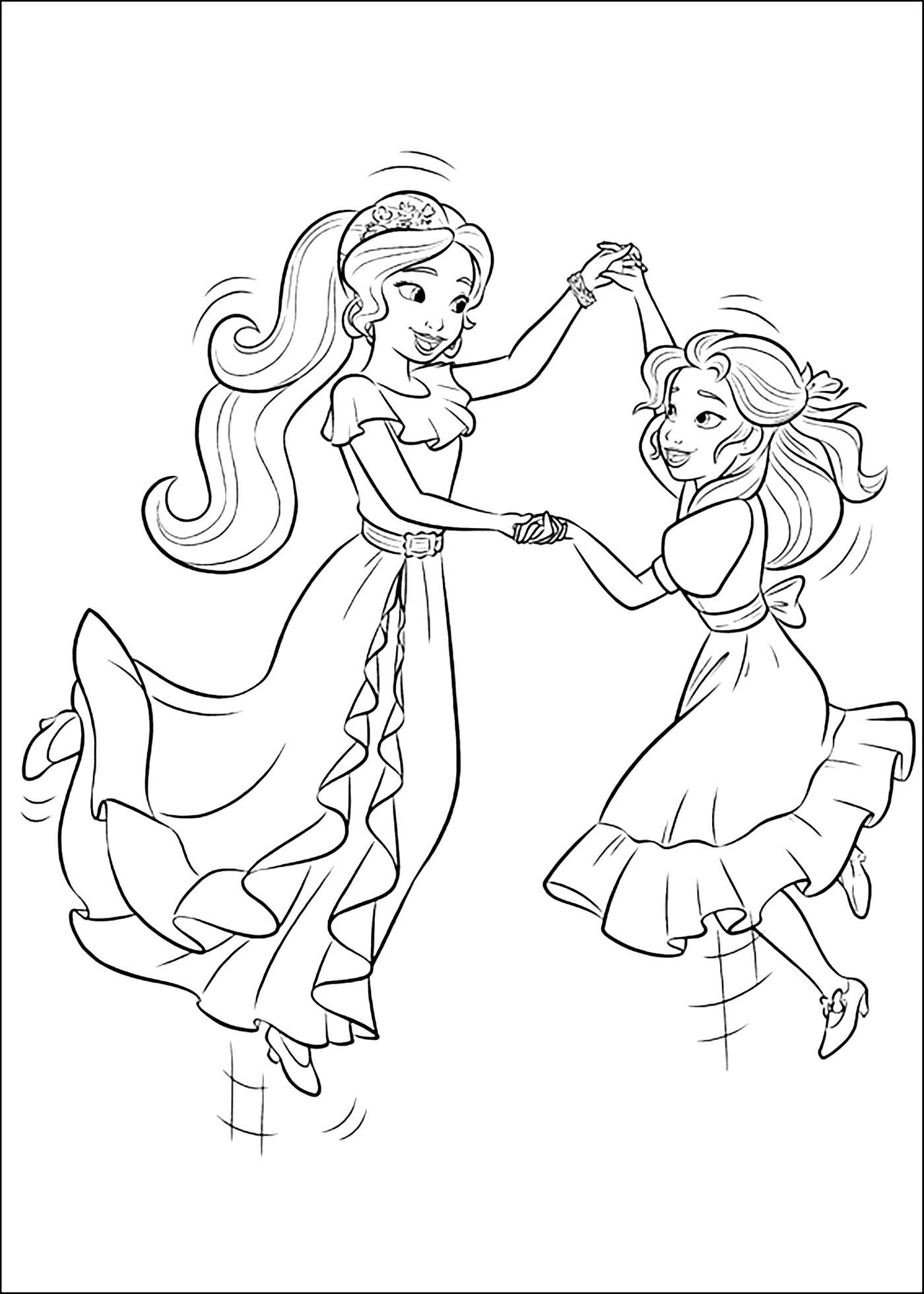 Elena De Avalor Coloring Pages