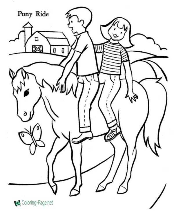 horse coloring pages # 59