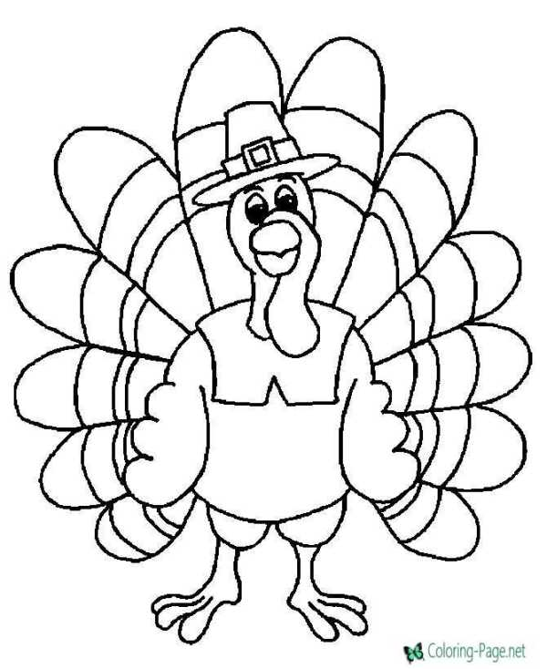 thanksgiving coloring pages # 1