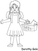 Wonderful Wizard Of Oz Coloring Pages