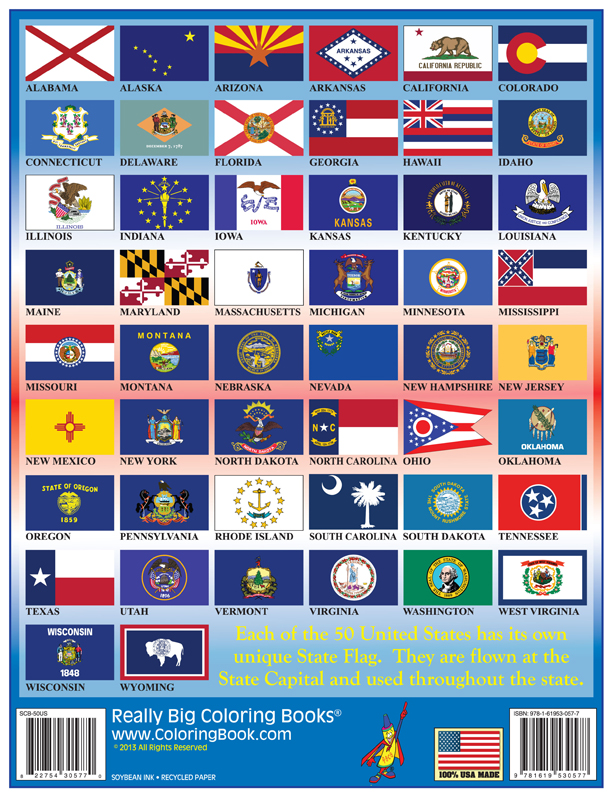 Image result for photos of the flags of the 50 states of the union