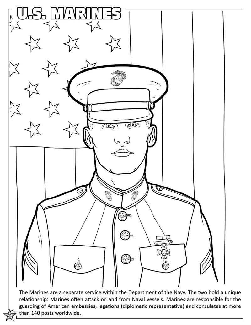 Coloring Books United States Armed Forces Military Coloring And Activity Book