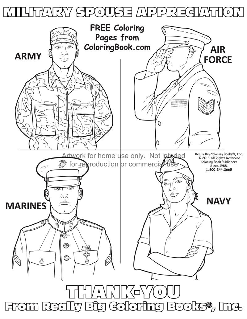 coloring books  free online coloring pages military