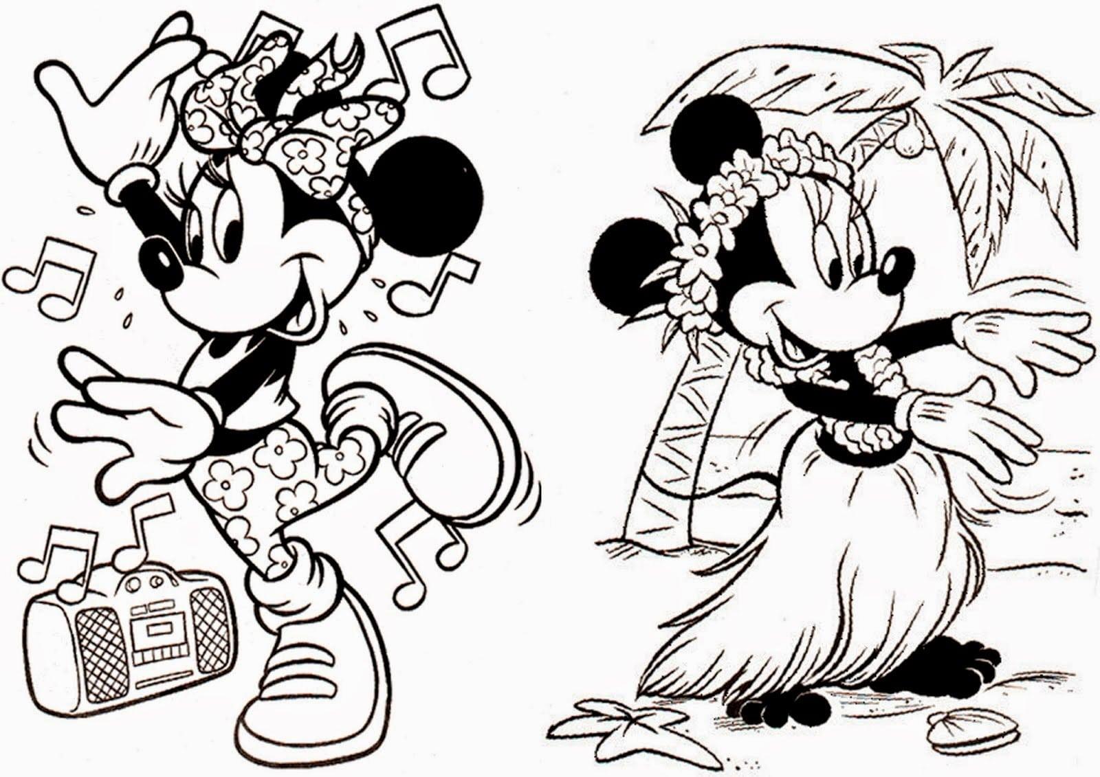 Desenhos Da Minnie