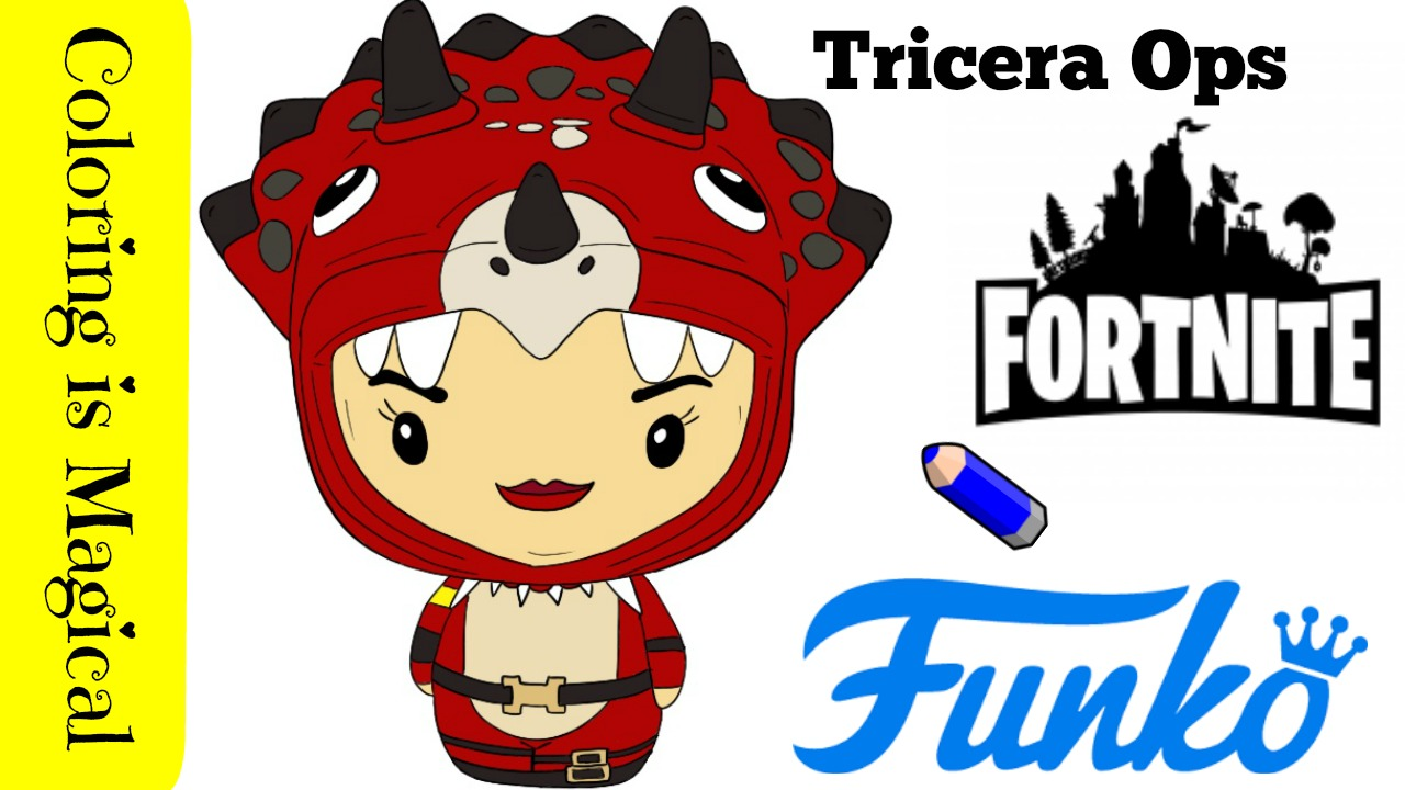 Funko Pintsize Heroes Fortnite Tricera Ops