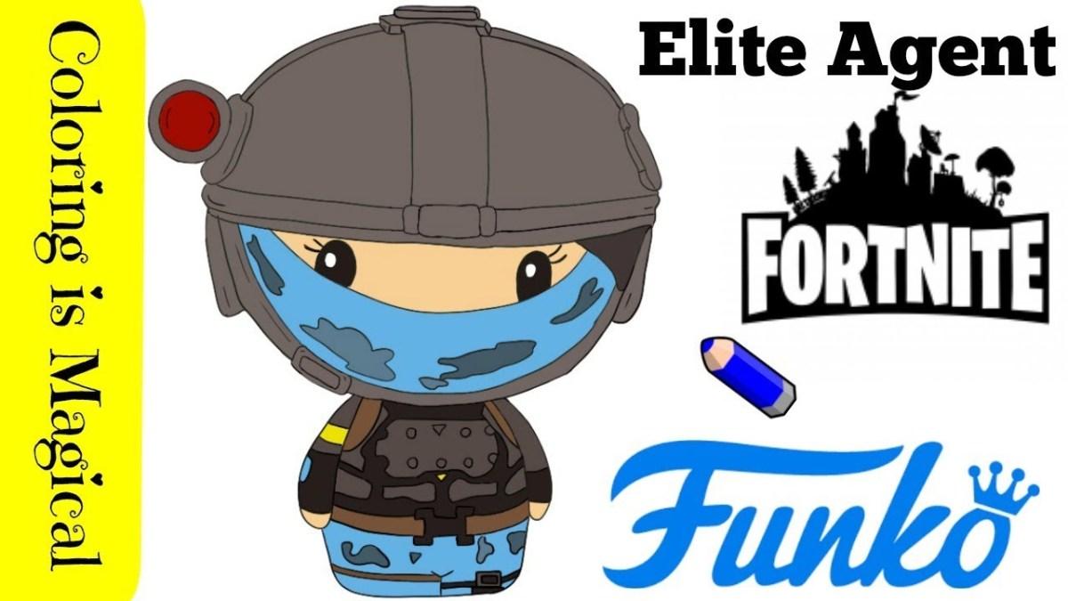Fortnite Elite Agent Outfit Funko Pintsize Heroes