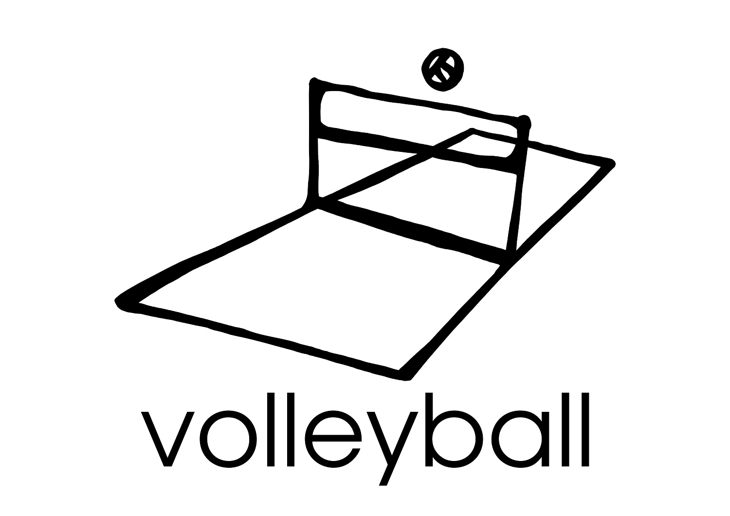 Cute Volleyball Coloring Pages Coloring Pages