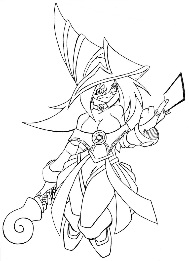 Printable Yugioh Coloring Pages Coloringme Com