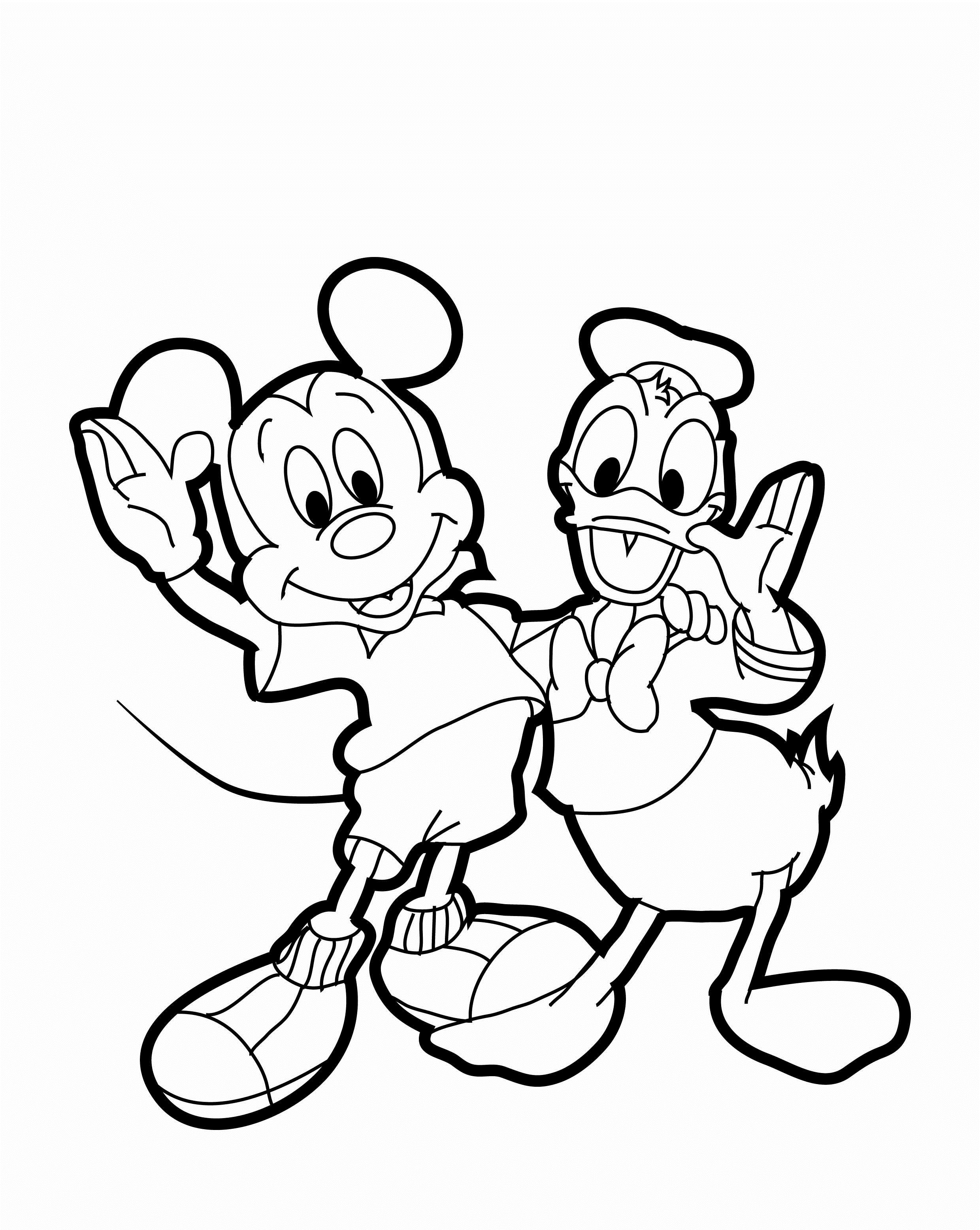 Mickey Mouse Coloring Pages 20 Free Psd Ai Vector Eps