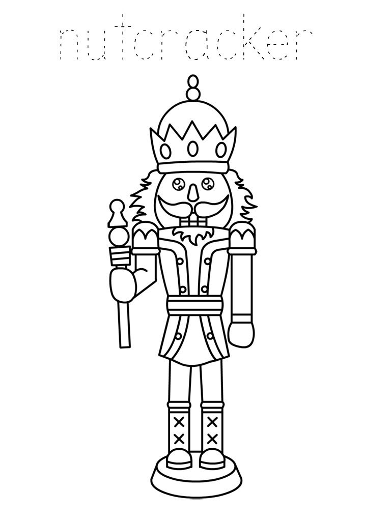 Printable Nutcracker Coloring Pages Coloring Me