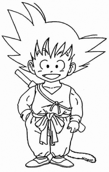 Printable Goku Coloring Pages Coloringme Com