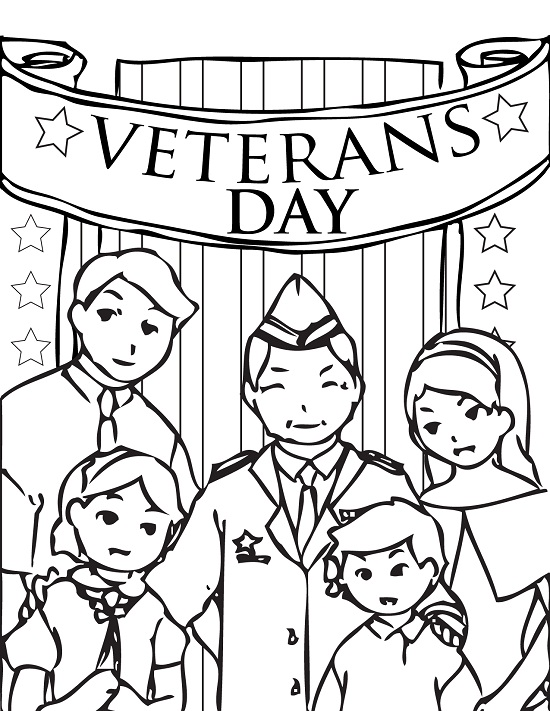 Printable Veterans Day Coloring Pages Coloringme Com