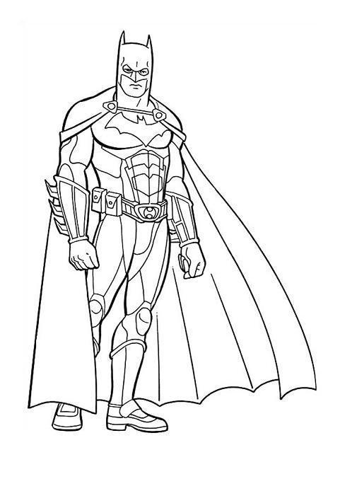 Printable Batman Coloring Pages Coloringme Com