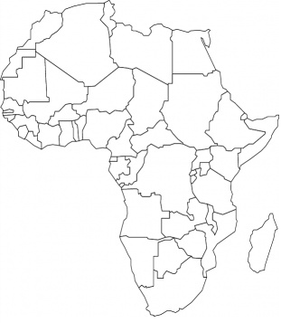 Africa Coloring Page Coloring Page Book