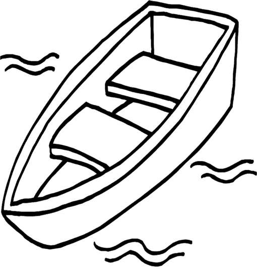 Boat Coloring Page Coloring Page Book For Kids