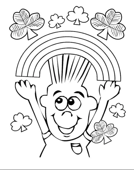 Happy March Coloring Page Coloring Page Amp Book For Kids
