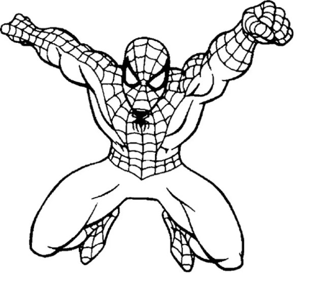 Spider Man Images Coloring Pages