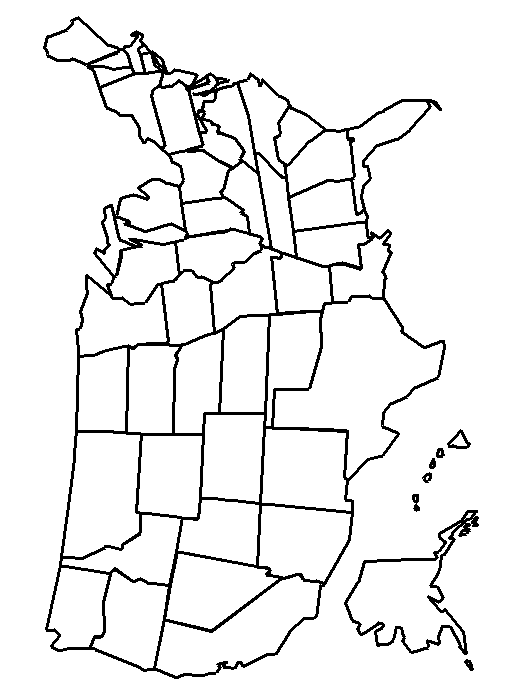 United States Map Coloring Page Coloring Page Book For Kids
