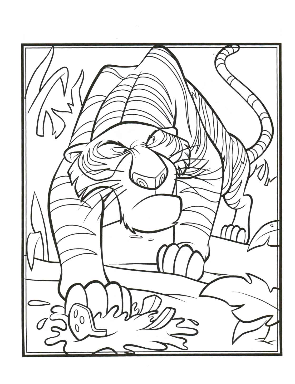 Jungle Book Coloring Pages Amp Books