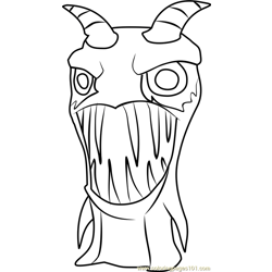 Burpy Coloring Page Free Slugterra Coloring Pages