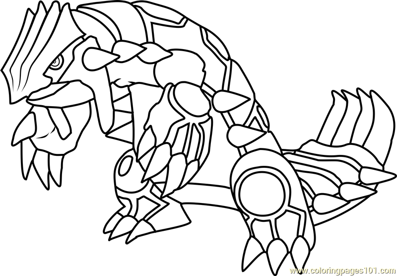Pokemon Z Zygarde Coloring Page Coloring Pages