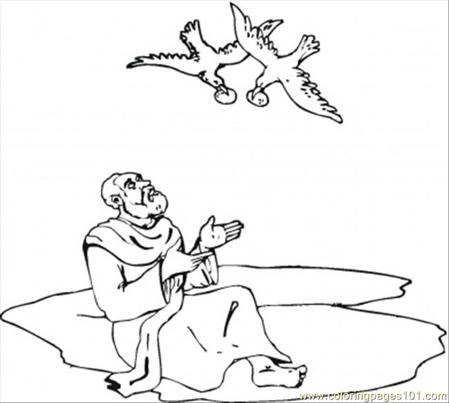 bible story elijah coloring page  free religions coloring
