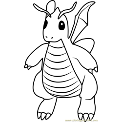 Dragon Coloring Pages 415 Dragon Worksheets For Kids