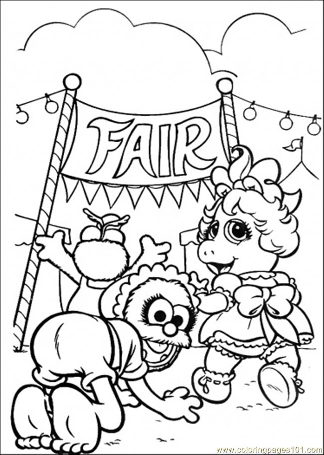 coloring pages the babies are win the champion (cartoons