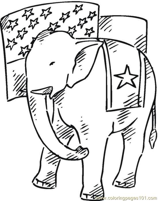coloring pages vote (16) (peoples > politics)  free