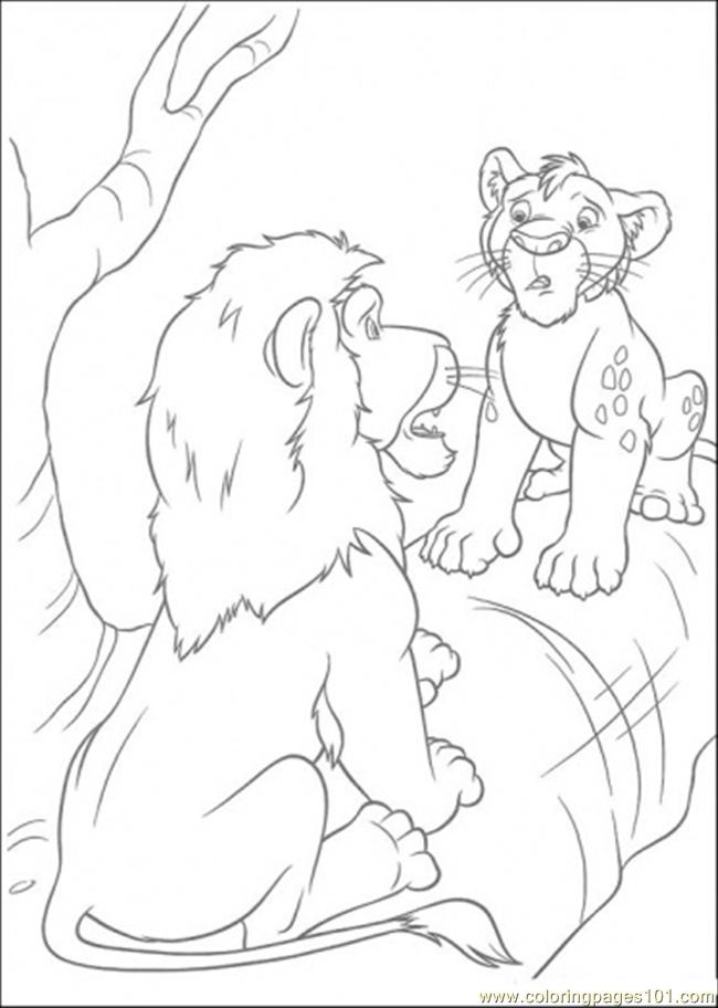 coloring pages samson and ryan is talking (cartoons > the