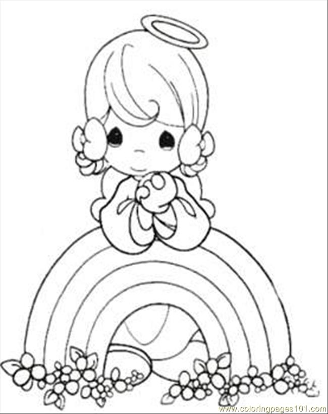 moments rainbow coloring page coloring page  free