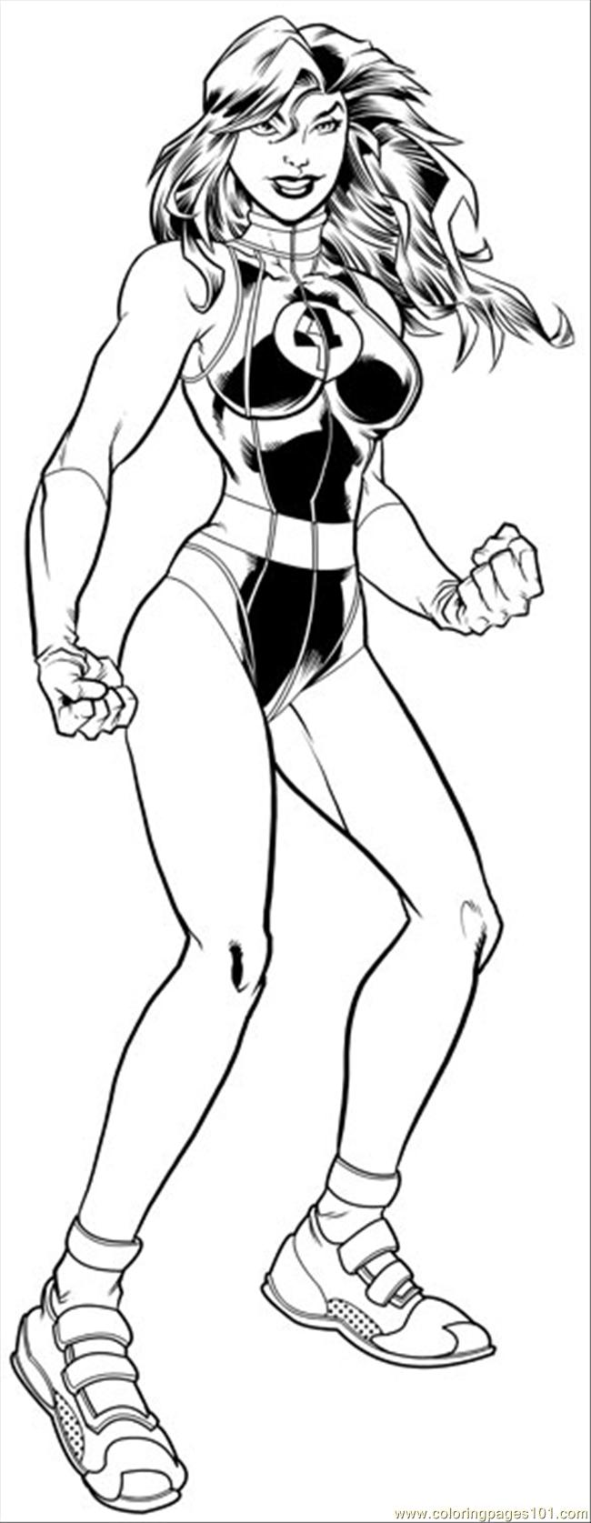 Shehulk Inks R2 Coloring Page Free Hulk Coloring Pages