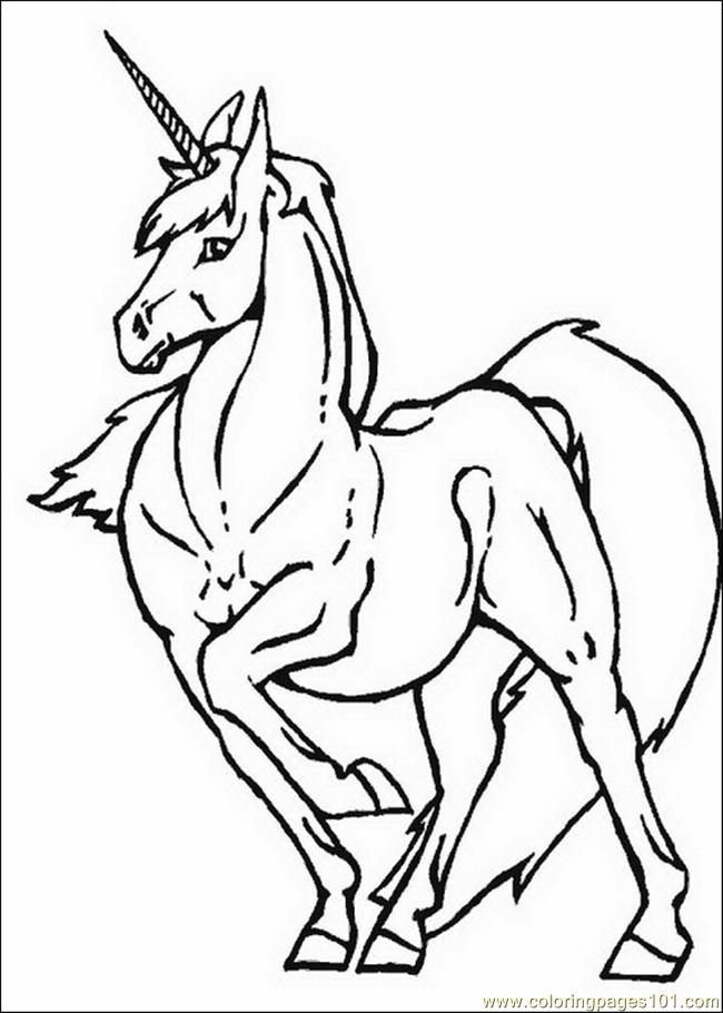 Unicorns 26 Coloring Page Free Unicorn Coloring Pages