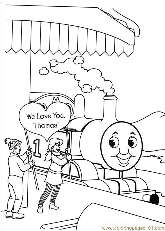 Thomas And Friends 39 Coloring Page Free Thomas Friends