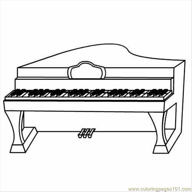 98 piano coloring page  free instruments coloring pages