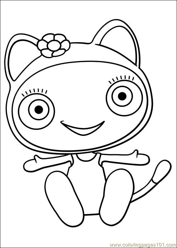 Waybuloo 25 Coloring Page Free Miscellaneous Coloring