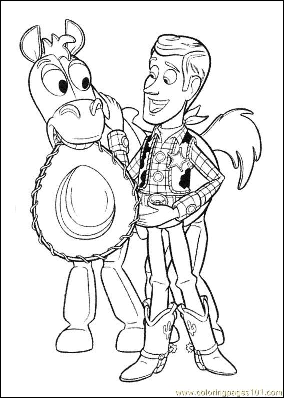 Toy Story 3 16 Coloring Page Free Toy Story Coloring