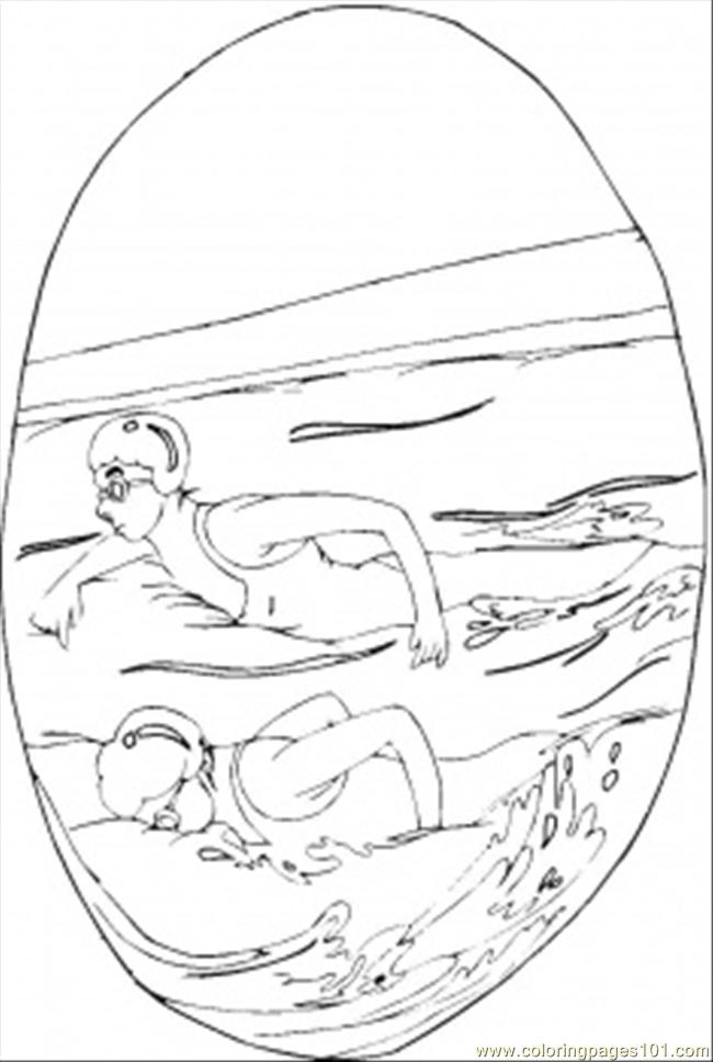swimming pool coloring page  free swimming coloring pages
