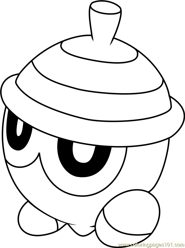 Seedot Pokemon Coloring Page Free Pokmon Coloring Pages
