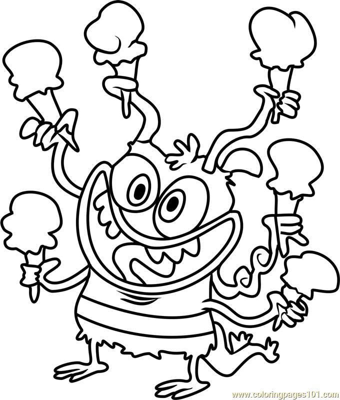 Bunsen Coloring Page Free Bunsen Is A Beast Coloring