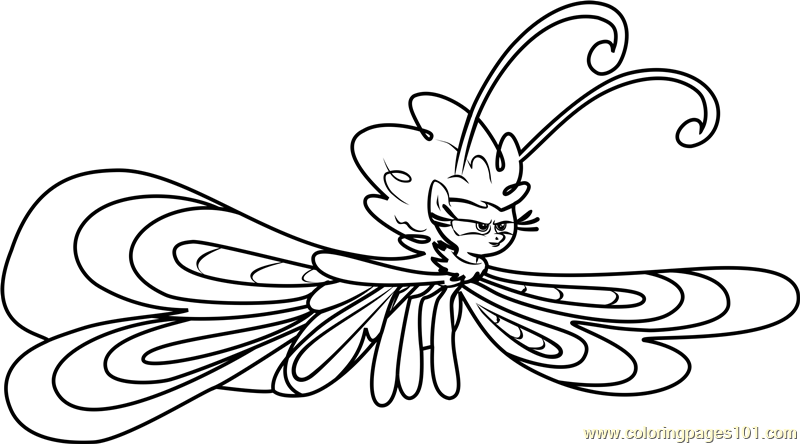 Seabreeze Coloring Page Free My Little Pony Friendship