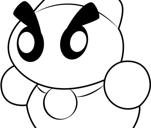 Chilly Coloring Page Free Kirby Coloring Pages