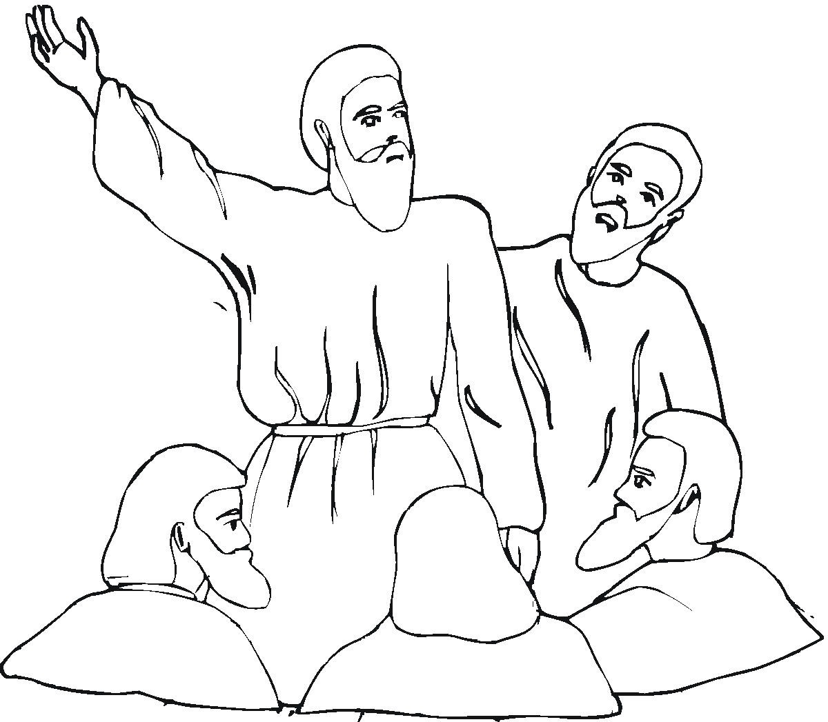 Isaiah Coloring Pages