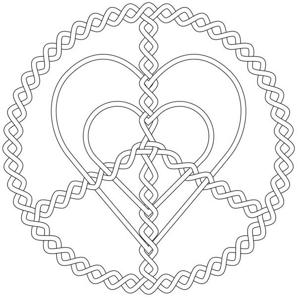 silver love and peace jewelry coloring page  coloring sky