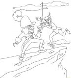 captain hook coloring pages # 43